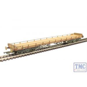 OR76CAR002 Oxford Rail OO Gauge Carflat BR Faded/Worn
