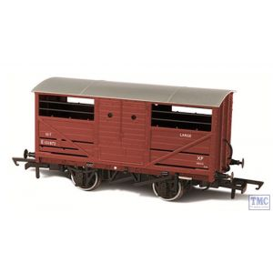 OR76CAT001B Oxford Rail OO Gauge BR Cattle Wagon E151872