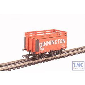 OR76CK7001 Oxford Rail OO Gauge Coke Wagon 7 Plank Dinnington 254