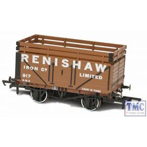 OR76CK7004 Oxford Rail 7 Plank Mineral Wagon - Renishaw Iron Co 917 (2 Coke Rails)