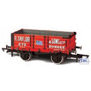 OR76MW4002 Oxford Rail OO Gauge 4 Plank Wagon R.Taylor & Sons Ltd Dundee