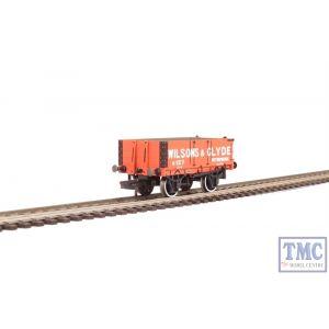 OR76MW4003 Oxford Rail OO Gauge 4 Plank Wagon Wilsons & Clyde