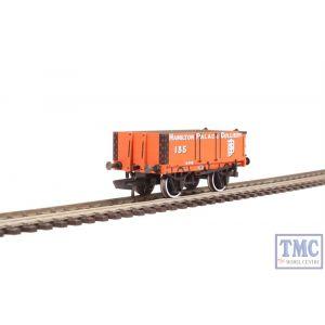 OR76MW4004 Oxford Rail OO Gauge 4 Plank Wagon Hamilton Palace Colliery