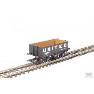 OR76MW4006 Oxford Rail OO Gauge United Coliieries 5439 4 Plank Wagon