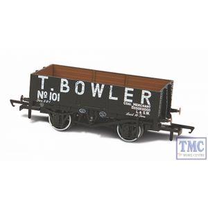 OR76MW5001 Oxford Rail OO/HO Gauge 5 Plank Wagon T Bowler London 101