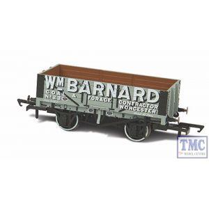 OR76MW5004 Oxford Rail OO/HO Gauge 5 Plank Wagon Wm Barnard Worcester 23