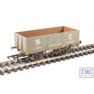 OR76MW6001W Oxford Rail OO Gauge 6 Plank Mineral Wagon LNER Weathered