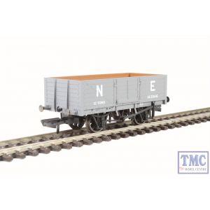 OR76MW6001 Oxford Rail OO Gauge 6 Plank Wagon LNER Grey