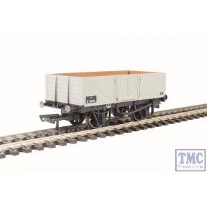 OR76MW6002 Oxford Rail OO Gauge 6 Plank Wagon BR Grey