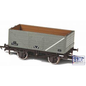 OR76MW7013 Oxford Rail OO Gauge 7 Plank Mineral Wagon BR Grey