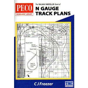 PB-4 Peco Modeller Book of N gauge Track Plans