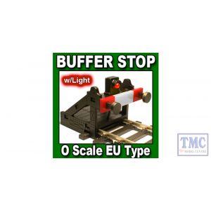 PBF-OE-01 Proses O Scale Buffer Stop DC DCC (EU Type)