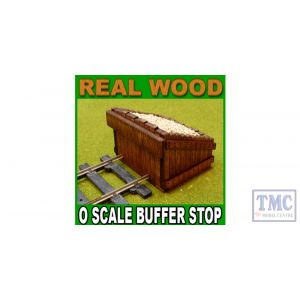 PBF-OS-08 Proses O Scale Scale Authentic Wood Buffer Stop Kit (2)