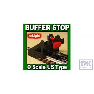 PBF-OU-01 Proses O Scale Buffer Stop DC DCC (US Type)