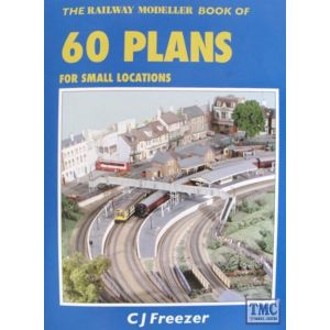 PB-3 Peco The Railway Modeller Book of 60 Plans for small locations