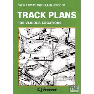 PB-66 The Railway Modeller Book of Track Plans for various locations