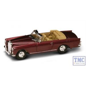 PKYM43214BR Road Signature 1:43 Scale 1961 Bentley S2 Continental DHC Burgundy