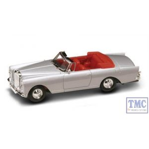 PKYM43214SL Road Signature 1:43 Scale 1961 Bentley S2 Continental DHC Silver