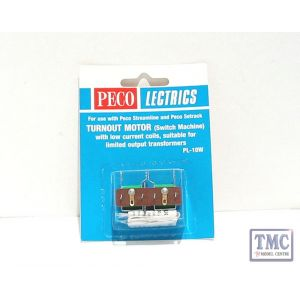 PL-10W Turnout Motor (Low Amps) from N to O and SM-32 Peco