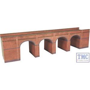 PN140 Metcalfe N Gauge Red Brick Viaduct Card Kit
