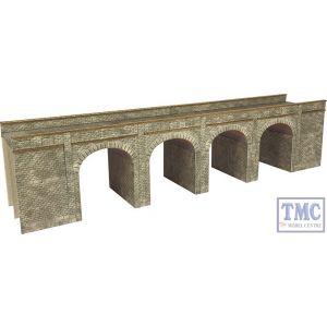 PN141 Metcalfe N Gauge Stone Viaduct Card Kit