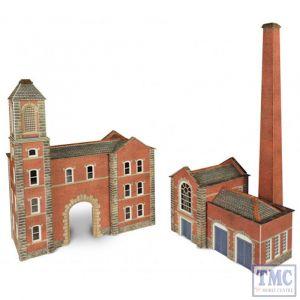 PN184 Metcalfe N Gauge N Boiler House & Chimney