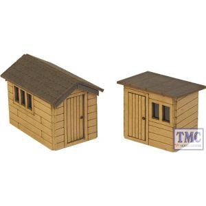 PN812 Metcalfe N Scale Garden Sheds Card Kit