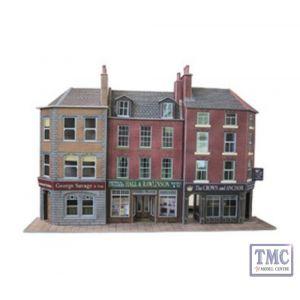 PO205 Metcalfe OO Gauge Low Relief Pub & Shop Card Kit