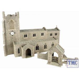 PO226 Metcalfe OO/HO Parish Church Card Kit
