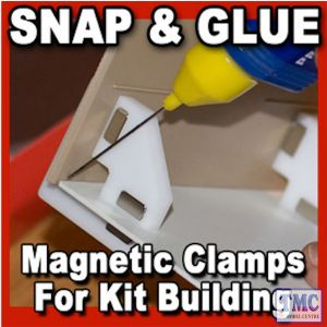 PPR-SS-02 Proses Snap & Glue Set Square (2 Magnetic Clamps w/8 Magnets)