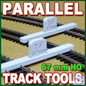 PPT-HO-02 Proses HO/OO Scale Parallel Track Tool 67mm