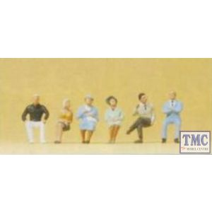PR74006 Preiser 1:100 Scale Sitting Persons