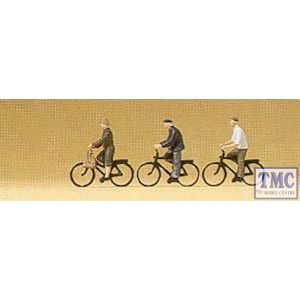 PR79087 Preiser N Scale Cyclists