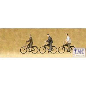 PR79087 Preiser N Scale Cyclists