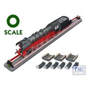 PRR-O-01 Proses Rolling Road Stand (90cm) w/Wheel Cleaners O SCALE