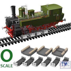 PRR-O-06 Proses 6 X Rollers & Drive Wheel Cleaners O SCALE