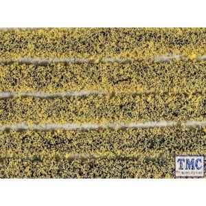 PSG-21 Peco Daffodil Tuft Strips 4mm High Self Adhesive