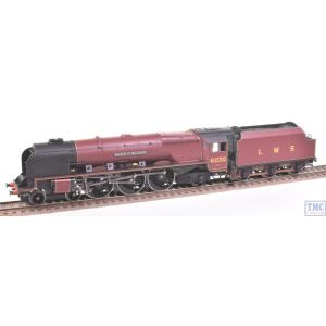 R2230 Hornby OO Gauge LMS 4-6-2 Duchess Class 6230 Duchess of Buccleuch Crimson Lake (Pre-owned)
