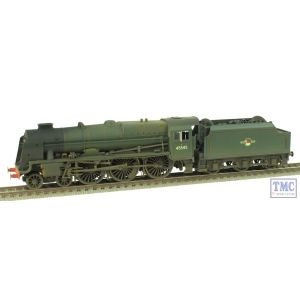 R2633X Hornby OO Gauge Patriot Class 7P 45545 'Planet' *DCC Fitted* BR Green L/Crest Real Coal & Weathered by TMC (Pre-owned)