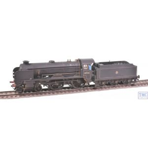 R2844 Hornby OO Gauge 4-4-0 Schools Class Loco 30934 St Lawrence BR Black E/Emb Real Coal Crew & Weathered by TMC (Pre-owned)