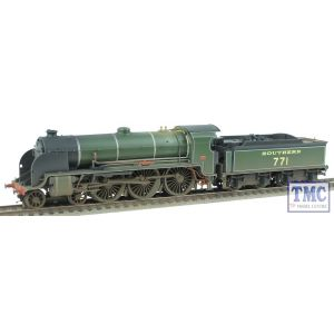 R3010 Hornby HO/OO SR 'Sir Sagramore' E771 King Arthur Class Real Coal Weathered by TMC (Pre-owned)