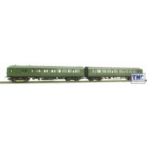 R3161 Hornby OO/HO SR 2-BIL 2-Car EMU Pack Weathered by TMC