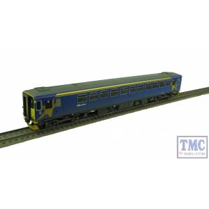 R3351 Hornby OO/HO Gauge 153358 Northern Rail Class 153 DMU Weathered by TMC (Pre Owned)