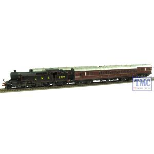 R3397 Hornby OO/HO Gauge LMS Suburban Passenger Train Pack - Limited Edition - Real Coal & Weathered by TMC