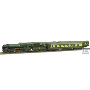 R3400 Hornby OO Gauge Golden Arrow Last Steam Run Train Pack -Limited Edition- Real Coal Glossed & Weathered by TMC
