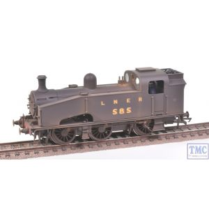 R3405 Hornby OO Gauge LNER 0-6-0T J50 Class no.585 Crew Parts Fitted Real Coal & Weathered by TMC