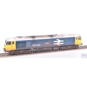 R3653 Hornby OO Gauge BR Class 50 Co-Co 50040 Leviathan (Era 7) with Extra Detail Weathering by TMC