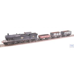 R3670 Hornby OO Gauge Collett 2-6-2T Class 72xx Freight Pack (Era 5) Train Pack Weathered by TMC
