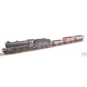 R3671 Hornby OO Gauge Peppercorn 2-6-0 K1 Class Freight Pack (Era 4) Train Pack Weathered by TMC