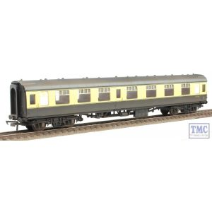 R4353 Hornby OO/HO Gauge BR Mk1 Composite Weathered by Weathered by TMC